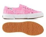 Superga 2750-Macramew, Sneaker, Donna, Rosa (V28 Begonia Pink), 35