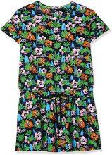 Love Moschino Kleid, Vestito Donna, Multicolore (P.Jungle W/Blac 0031), 44 (Taglia Produttore: 48)