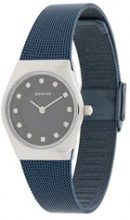 Bering - Orologio 'Classic' - women - acer saccharinum (sugar maple) extract/stainless steel - OS - BLUE