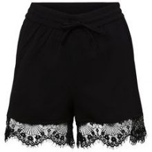 NOISY MAY Lace Shorts Women Black