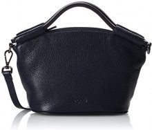 Ecco Sp 2 Small Doctors Bag, Borsa con Maniglia Donna, Nero (Black), 10x16x27 Centimeters (B x H x T)