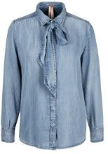 Marc Cain Additions ha 51.03 D68, Camicia Donna, Blau (Baby Blue 351), 46