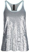 Marc Cain Sports GS 61.18 J94, Tank Top Donna, Grau (Silver 800), 40
