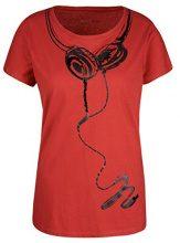 Marc Cain Sports JS 48.20 J20, T-Shirt Donna, Mehrfarbig (Pompeian 275), 48 (Taglia Produttore: 5)