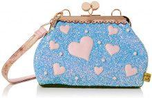 Irregular Choice Candy Cupcake - Borse a spalla Donna, Blu (Blue), 13x20x30 cm (W x H L)