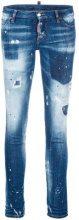 Dsquared2 - Jeans 'Jennifer' - women - Cotton/Polyester/Spandex/Elastane - 40, 36, 38, 42, 44, 46 - BLUE