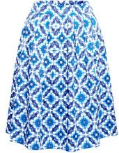 ESPRIT 028ee1d005, Gonna Donna, Multicolore (Bright Blue 410), 46 (Taglia Produttore: 40)
