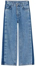 FIND Jeans A Zampa Donna, Blu (Light Blue), W28/L32 (Taglia Produttore: Small)