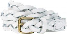 Cintura in pelle Treccia (Bianco) - bpc selection premium