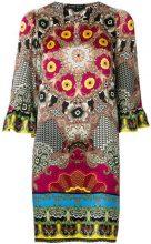 Etro - printed shift dress - women - Silk - 40 - MULTICOLOUR