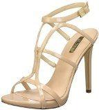 Guess Adalee2 Patent Pu, con Cinturino alla Caviglia Donna