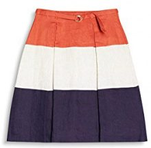 ESPRIT Collection 047eo1d001, Pantaloni Donna, Multicolore (Burnt Orange 815), 42