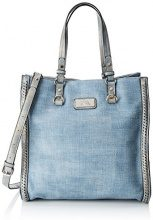 XTI 85953 - Borse a mano Donna, Blu (Jeans), 32x34x16 cm (W x H L)