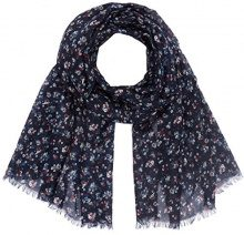 Tom Tailor Amazing Flower Scarf, Cappello in felto Donna, Blu (Real Navy Blue 6593), Taglia Unica