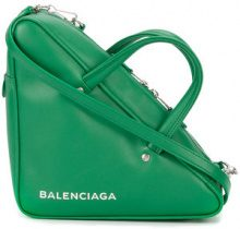 Balenciaga - Triangle Medium Duffle bag - women - Leather - OS - Verde