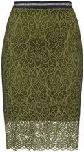 FIND Lace Hem Gonna Donna, Verde (Khaki), 44 (Taglia Produttore: Medium)