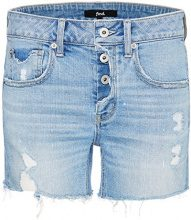 FIND Raw Edge Shorts Donna, Blu (Light Blue), 42 (Taglia Produttore: Small)