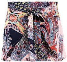 Pantaloncini da corsa con stampa di Keira bohemien a motivo cachemire sciarpa