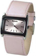 Bench BC0058PK - Orologio da polso da donna, cinturino in pelle colore rosa