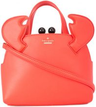 Kate Spade - crab legs tote - women - Leather - OS - RED