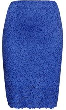 FIND Lace Gonna Donna, Blu (Dazzling Blue), 40 (Taglia Produttore: X-Small)