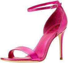 Guess Footwear Dress Sandal, Scarpe con Cinturino alla Caviglia Donna, Rosa (Medium Pink), 39 EU