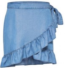 ONLY Frill Skirt Women Blue
