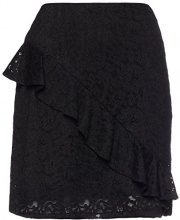 FIND Ruffle  Gonna Donna, Nero (Black), 52 (Taglia Produttore: XXX-Large)
