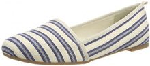 Tamaris 24668, Mocassini Donna, Blu (Navy Stripes), 42 EU