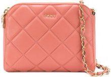 Donna Karan - Barbara shoulder bag - women - Lamb Skin - OS - PINK & PURPLE