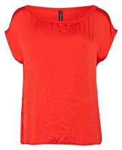 Marc Cain Essentials MarcCainDamenTops+E6196W87, Top Donna, Rot (Scarlet 272), 46 (7)