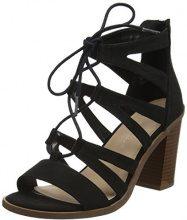 New Look Wide Foot Oliana, Sandali Punta Aperta Donna, Black (Black 1), 38 EU