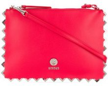 Versus - Borsa Clutch - women - Calf Leather - One Size - RED