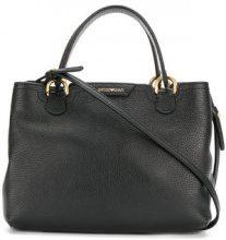 Emporio Armani - Borsa con logo - women - Calf Leather - OS - BLACK