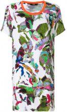 Versus - T-shirt con stampa astratta - women - Polyester - S, M, L - MULTICOLOUR