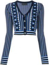 Diesel Black Gold - Cardigan corto - women - Rayon/Nylon - XS, S, M - BLUE