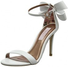 Ted Baker Sandall, Sandali con Cinturino alla Caviglia Donna, Bianco (White #Ffffff), 39 EU