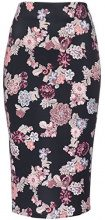FIND Floral Pencil Gonna Donna, Nero (Black Mix), 46 (Taglia Produttore: Large)