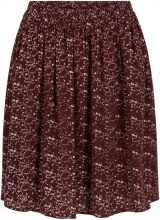Y.A.S Floral Mini Skirt Women Brown