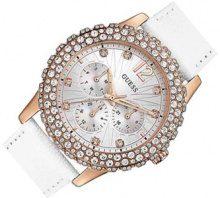 Guess Damen-Armbanduhr Chronograph Quarz Leder W0336L3