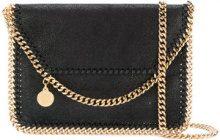 Stella McCartney - Falabella shaggy deer shoulder bag - women - Artificial Leather - One Size - BLACK