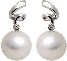 Kimura Pearls EN0008-302 - Orecchini da donna, oro bianco 9k (375)