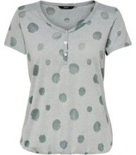 ONLY Detailed Short Sleeved Top Women Green