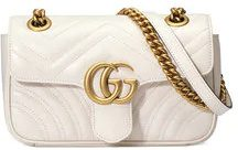 Gucci - GG Marmont matelassé mini bag - women - Leather/Suede - One Size - WHITE