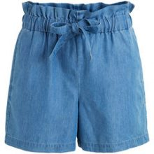 VILA High Waisted Denim Shorts Women Blue