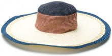 Ps By Paul Smith - Cappello a tesa larga - women - Paper - S - NUDE & NEUTRALS