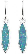 Dew Donna 925 argento Marquise blu Opale