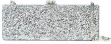 Edie Parker - Flavia metallic clutch bag - women - Acrylic - OS - METALLIC