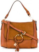 See By Chloé - Borsa Joan - women - Calf Leather/Suede - One Size - BROWN