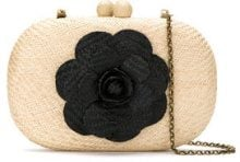 Serpui - straw clutch - women - Straw - One Size - Color carne & neutri
